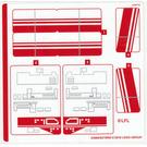 LEGO Sticker Sheet for Set 75249 (63966)