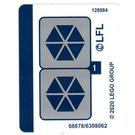 LEGO Sticker Sheet for Set 75283 (68678)