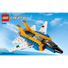 LEGO Super Soarer Set 31042 Instructions