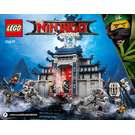 LEGO Temple of the Ultimate Ultimate Weapon Set 70617 Instructions