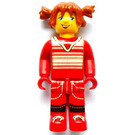 LEGO Tina in Red Outfit Minifigure
