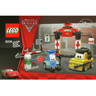 LEGO Tokyo Pit Stop Set 8206 Instructions