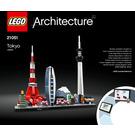 LEGO Tokyo Set 21051 Instructions