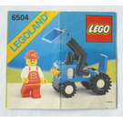 LEGO Tractor Set 6504 Instructions