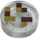 LEGO Tile 1 x 1 Round with Minecraft Blocks (37057 / 98138)