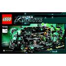 LEGO Ultra Agents Mission HQ Set 70165 Instructions