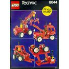 LEGO Universal Pneumatic Set 8044 Instructions