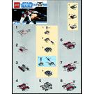 LEGO V-19 Torrent Set 8031 Instructions