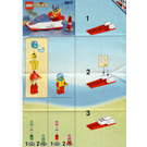 LEGO Water Jet Set 6517 Instructions