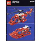 LEGO Whirlwind Rescue Set 8856 Instructions