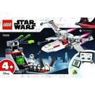 LEGO X-wing Starfighter Trench Run Set 75235 Instructions