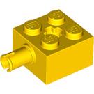 LEGO Brick 2 x 2 with Pin and Axlehole (6232 / 42929)