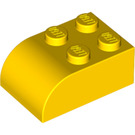 LEGO Brick 2 x 3 with Curved Top (6215)
