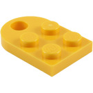 LEGO Plate 2 x 3 with Rounded End and Pin Hole (3176)