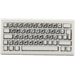 LEGO Tile 1 x 2 With PC Keyboard Pattern with Groove (46339 / 50311)
